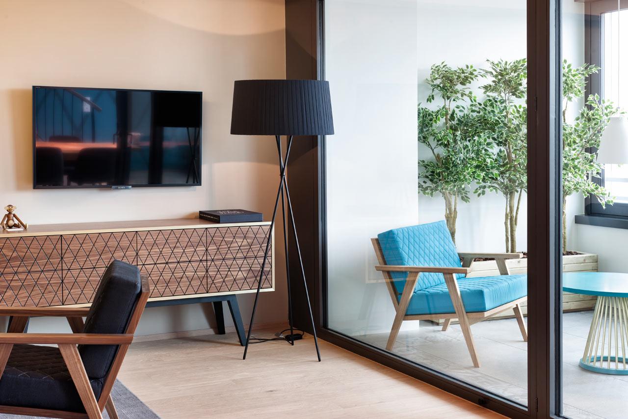 A Penthouse Loft in West Zurich by Dyer-Smith Frey