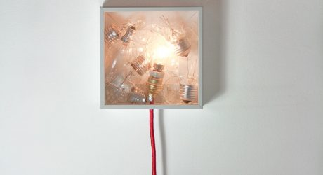 Bulbbox: A Lamp Made with a Box of Bulbs
