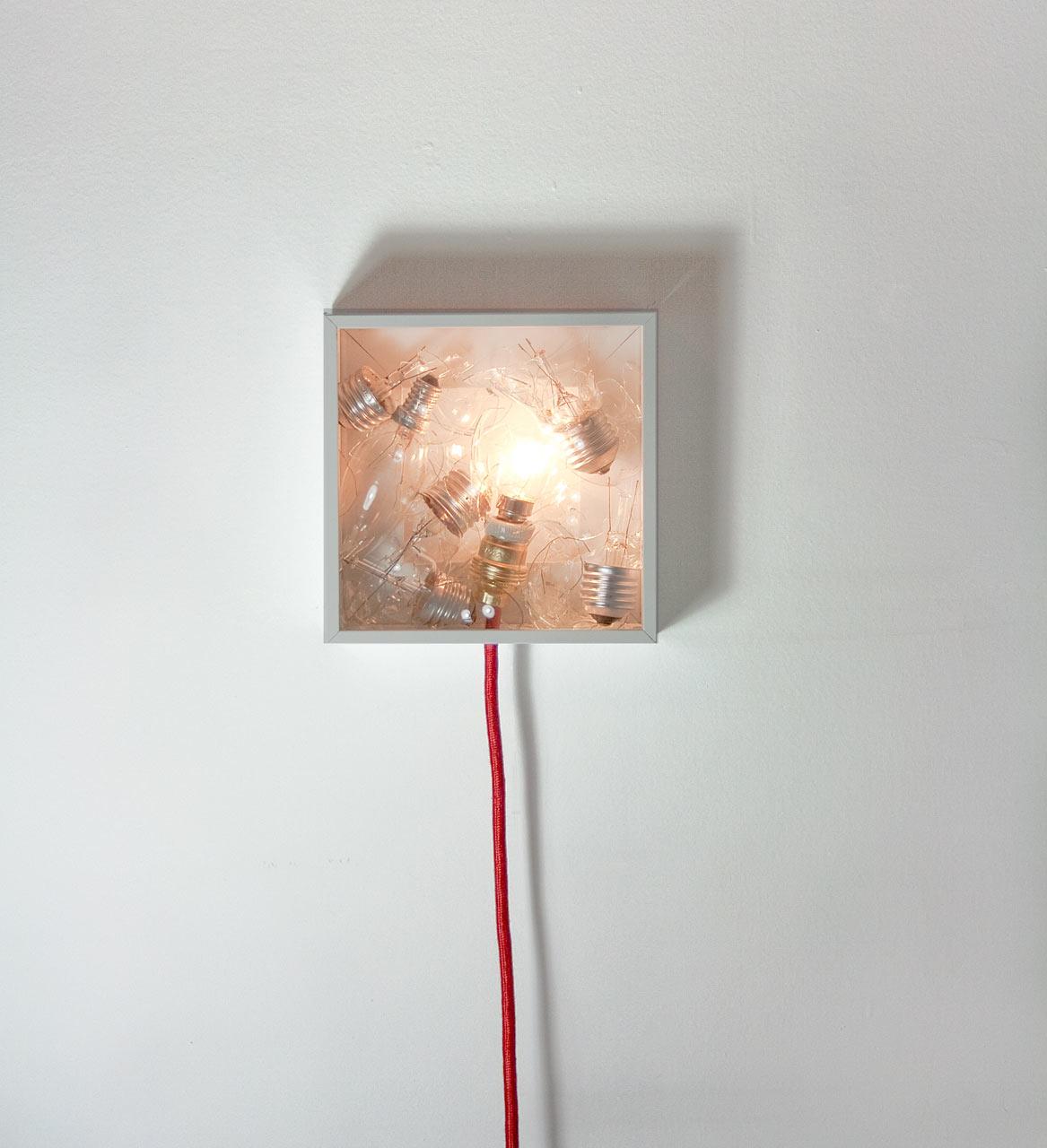 Bulbbox: A Lamp Made with a Box of Bulbs