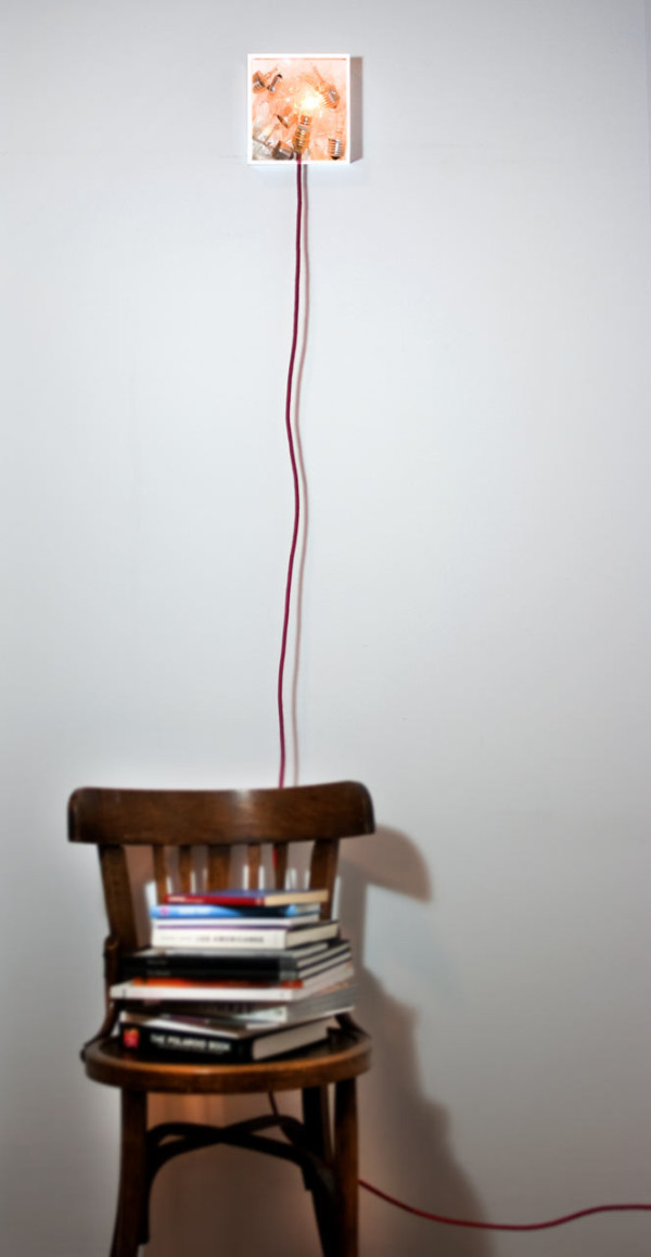 Bulbbox: A Lamp Made with a Box of Bulbs in main home furnishings  Category