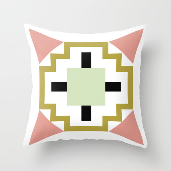cactus-flower-modern-pillow