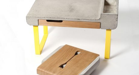 Dobrobox & Dobrostol Concrete Decor by Ekaterina Vagurina