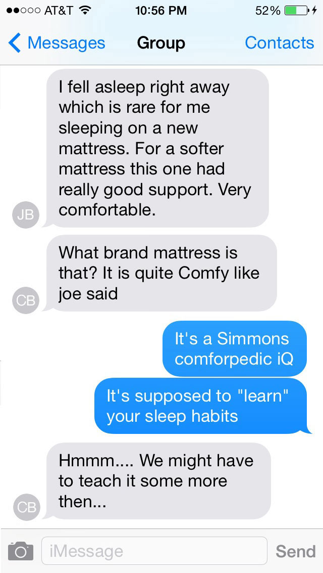 imessage-chat-mattress-conversation