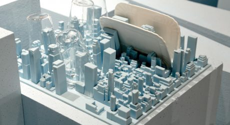 Luca Nichetto Turns NYC into a Flexible Silicone Dish Rack