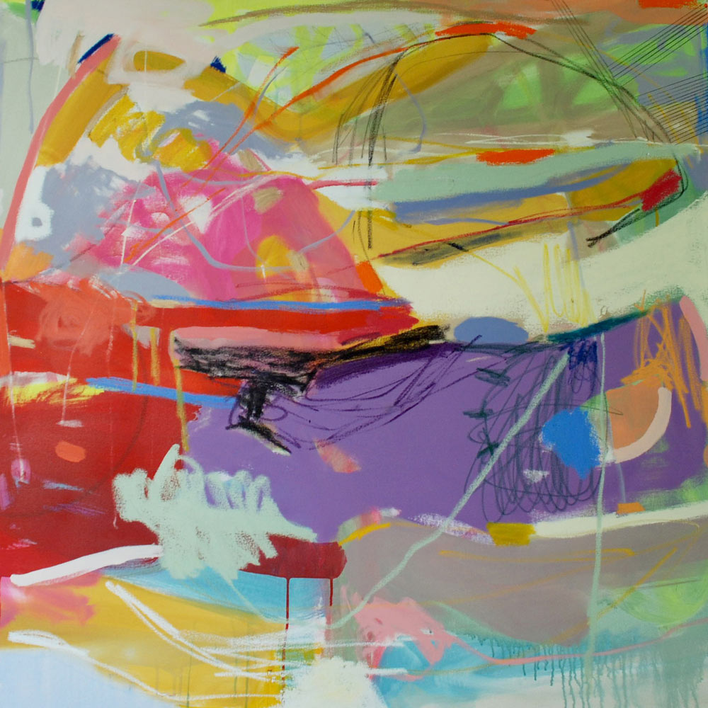New Abstract Paintings by Michelle Armas