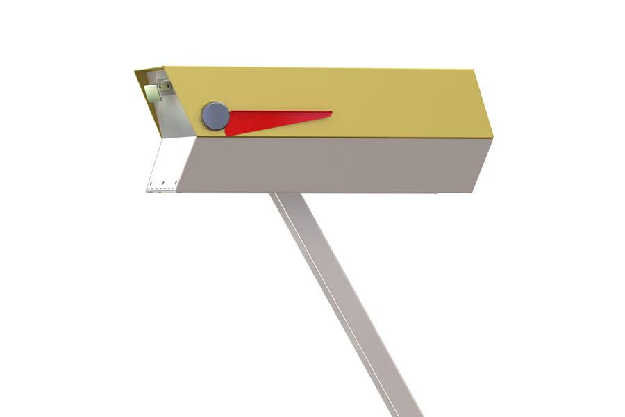 modbox: Mid-Century Modern Mailboxes by Greg Kelly