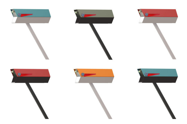 modbox: Mid Century Modern Mailboxes by Greg Kelly in main home furnishings  Category