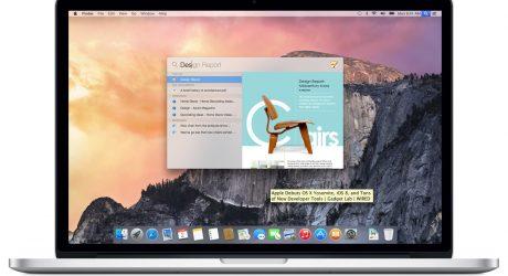 Apple OS X Yosemite Flattens the Desktop UI