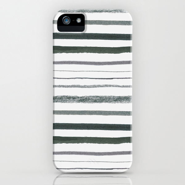 stripes-society6-iphone-case-black-white