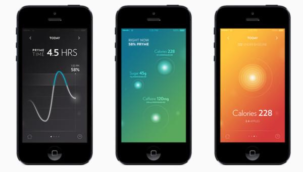 vessyl-app-screens