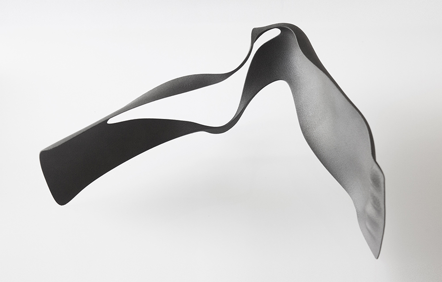 A highly flexible leg orthosis is designed to hug both leg and the foot while still allowing natural motion to provide active support and control in the gait cycle while healing.