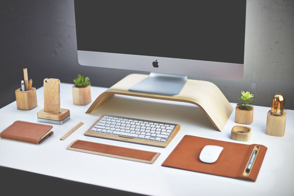 The Grovemade Desk Collection  in technology style fashion main home furnishings  Category