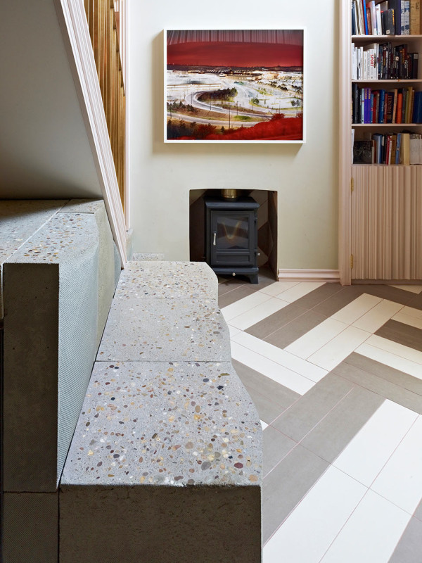 A Narrow Townhouse in London Full of Playful Details in main interior design architecture  Category
