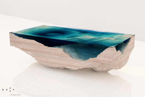 The Abyss Table by Christopher Duffy for Duffy London in main home furnishings  Category
