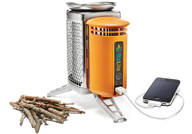 If the Pelty's energy conversion idea sounds familiar, you might remember the BioLite CampStove, which also uses a Peltier junction to create an electric current (in this case, to power a USB recharge port).