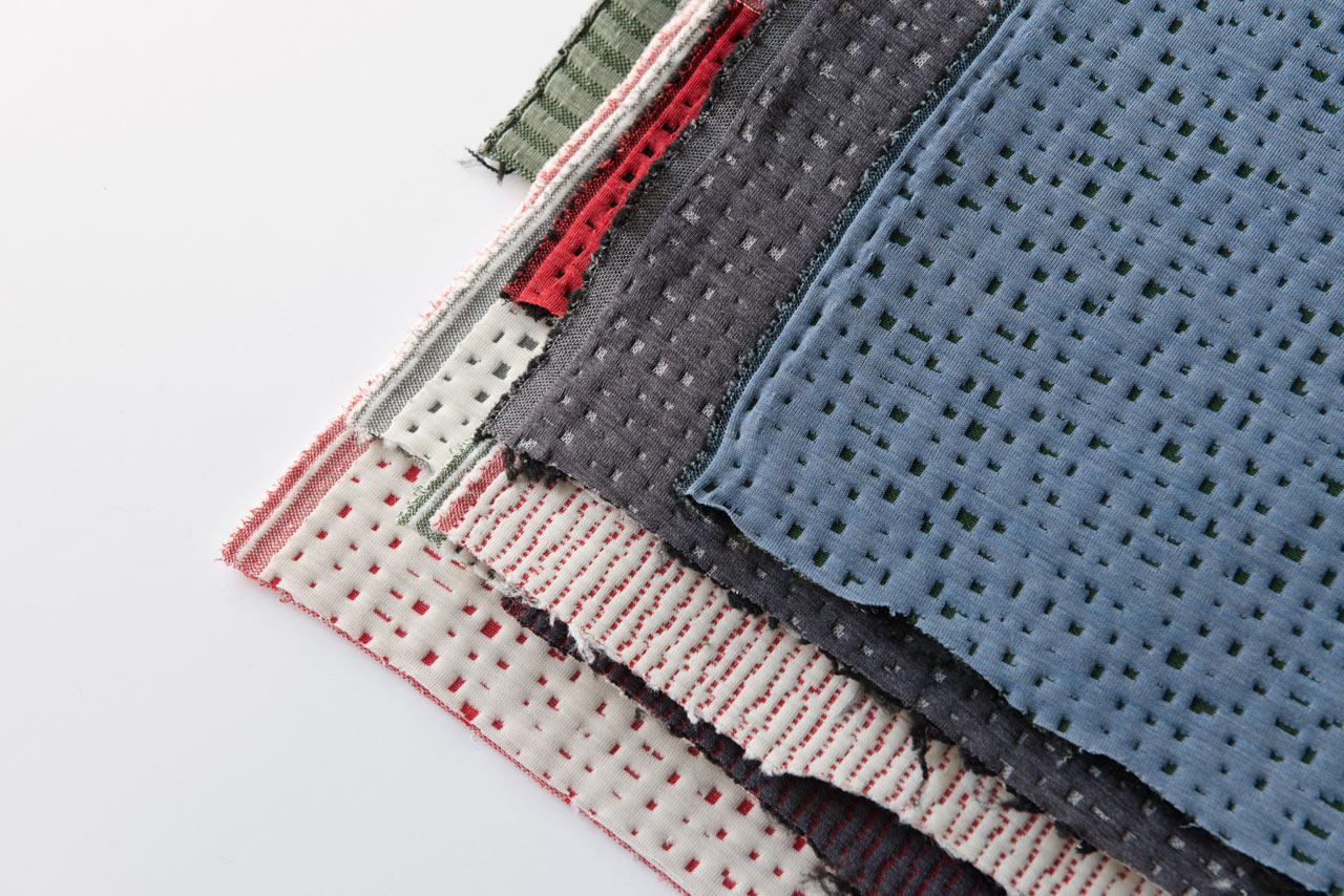 3d knitted fabric by the bouroullec brothers for kvadrat design milk