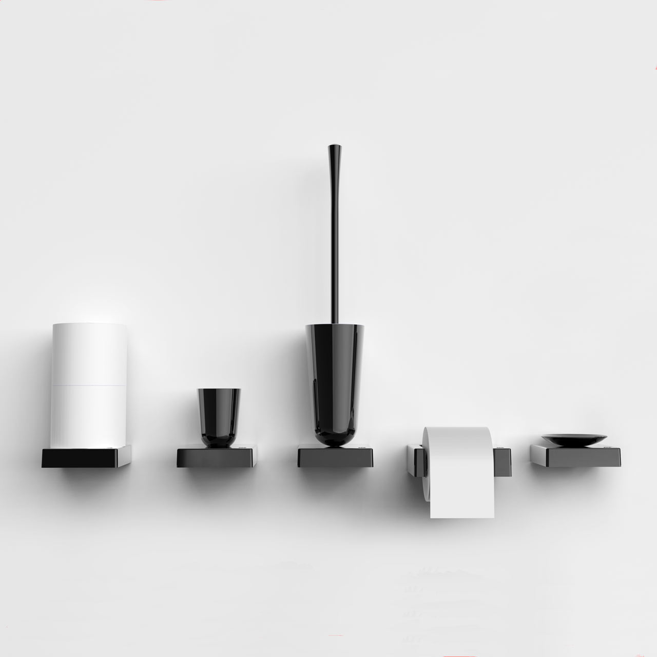 platform a line of bathroom accessories by brad ascalon