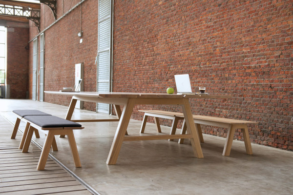 Indoor Picnic Tables For Work Gathering Eating Or Play Design Milk - Office picnic table