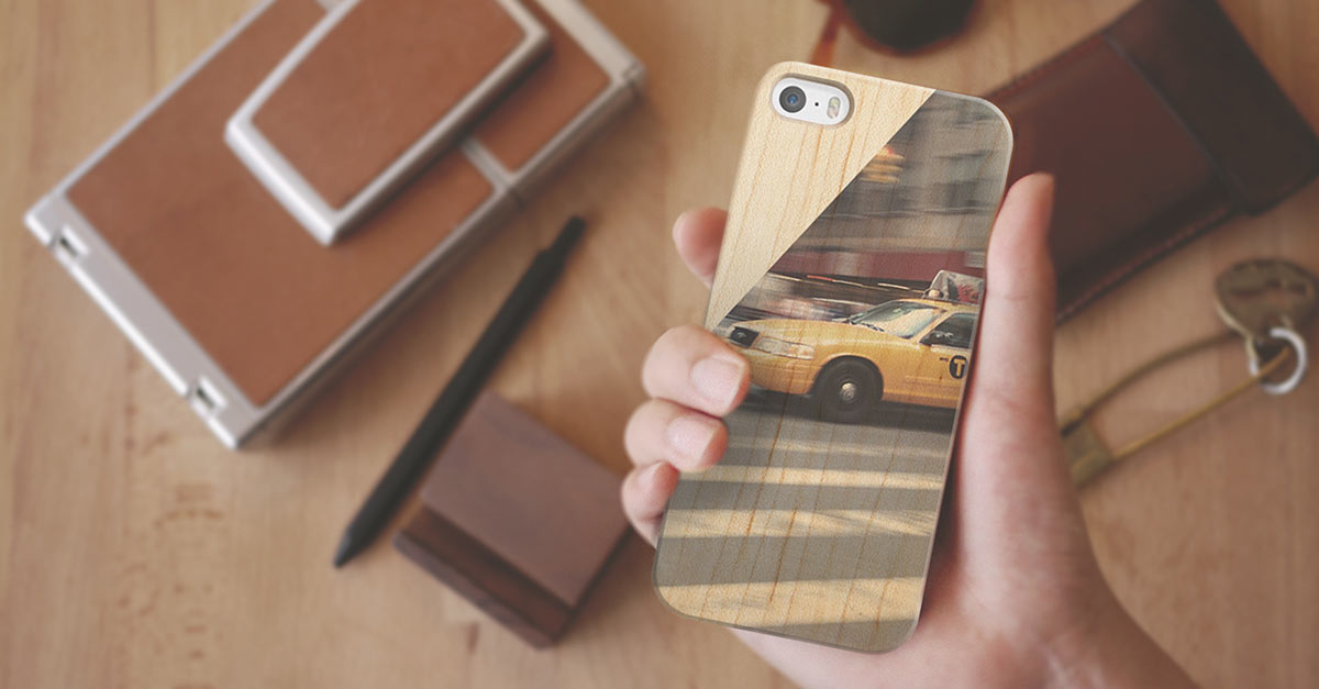 Your Photos Printed on A Wooden iPhone Case