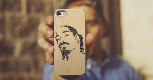 Your Photos Printed on A Wooden iPhone Case in technology style fashion main  Category
