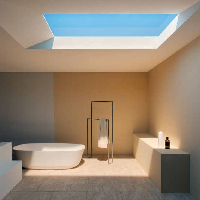 CoeLux Simulates Tropical Nordic and Mediterranean Sunlight ... & CoeLux LED Skylight Simulates Tropical and Nordic Light - Design Milk