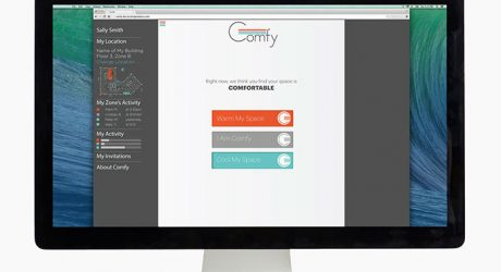 Comfy Brings Group Voting to the Workplace Thermostat