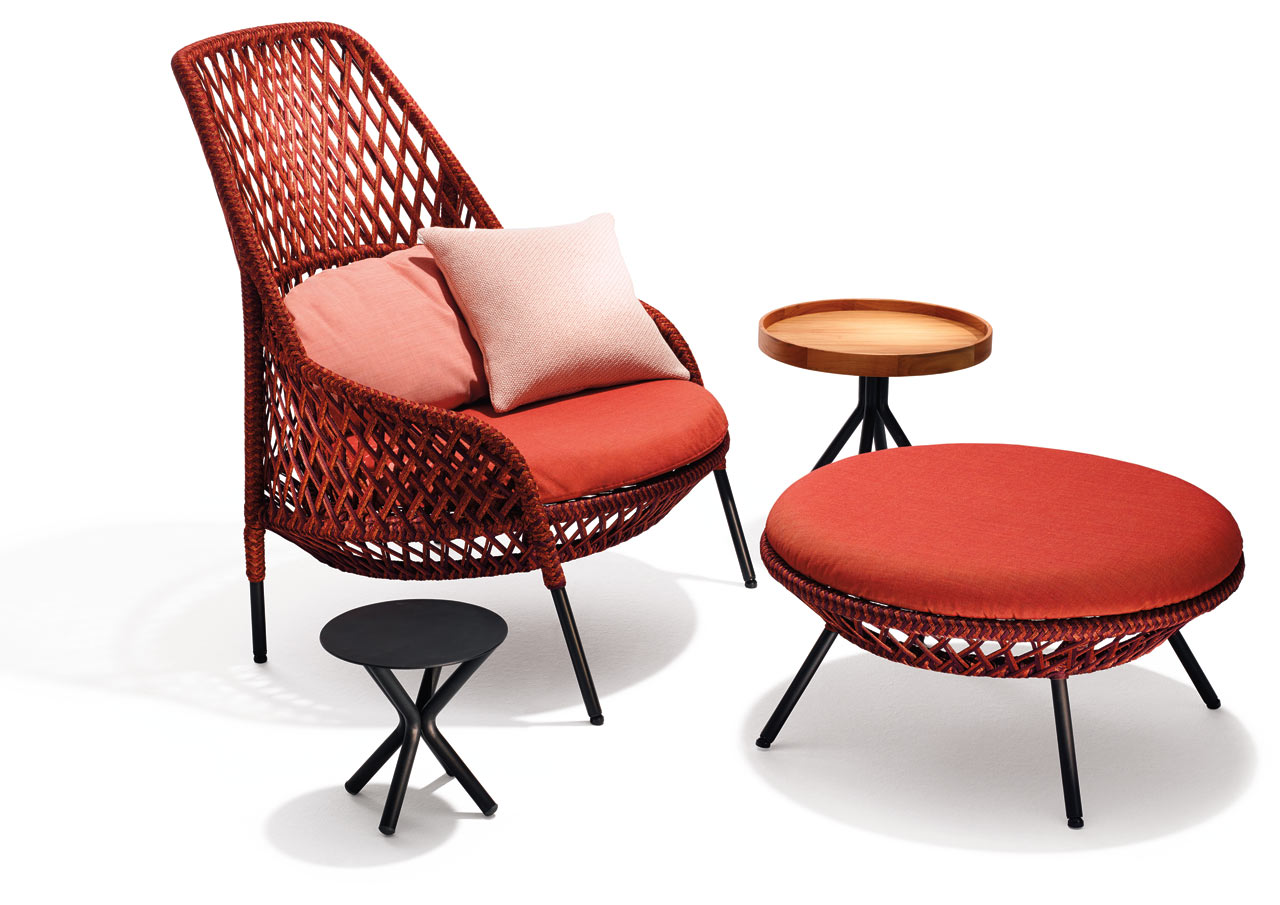 Ahnda by stephen burks for dedon design milk for Dedon outdoor furniture