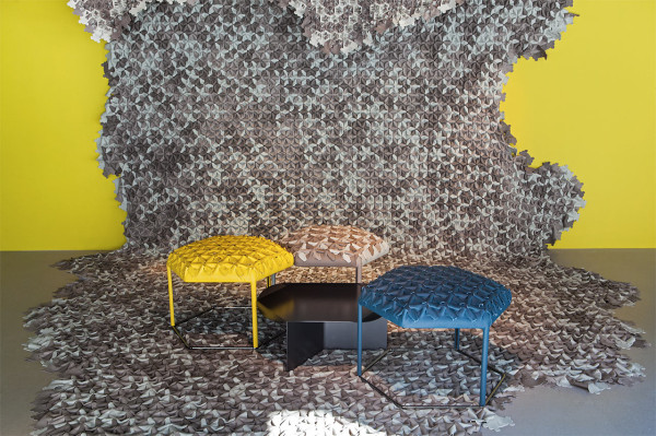 Hive: Leather Patches Create 3D Upholstery Textiles in main home furnishings  Category