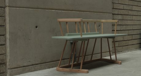 Douglas: A Bench Made Out of Douglas Fir