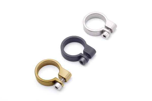 Industrial Clamp Jewelry Collection by Drilling Lab Design Milk