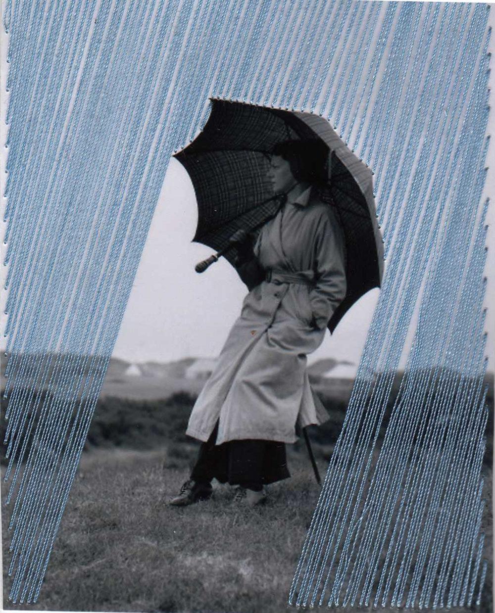 Flore Gardner, Rain, 2014 @ Flore Gardner