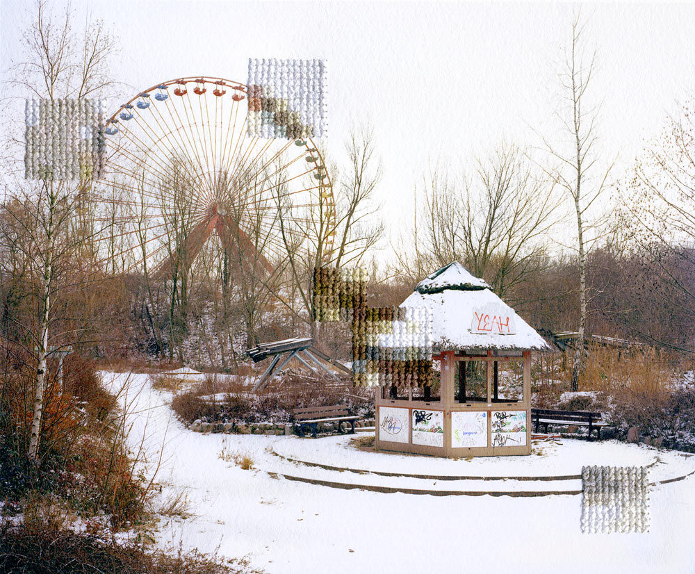 Diane Meyer, Spree Park, Former DDR Amusement Park, 2013 @ Diane Meyer