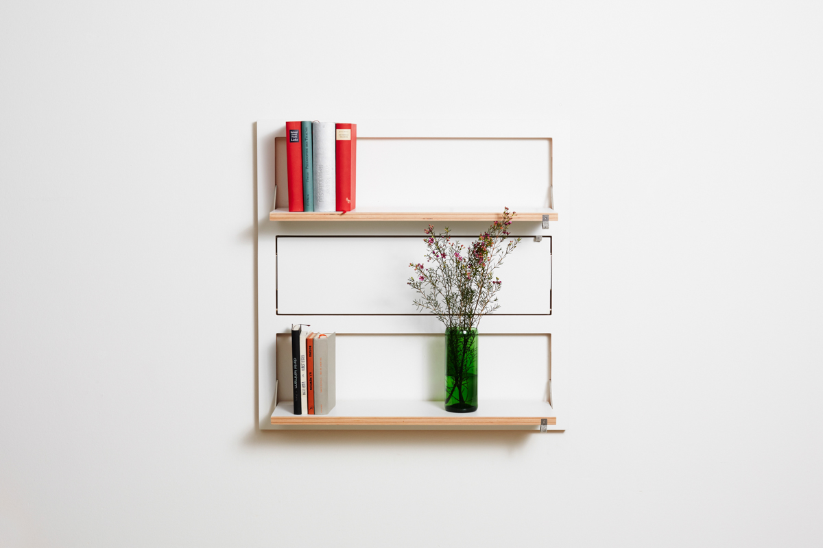 wall mounted shelving from ambivalenz