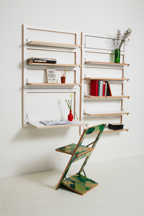Customizable Wall Mounted Shelving From AMBIVALENZ in main home furnishings  Category