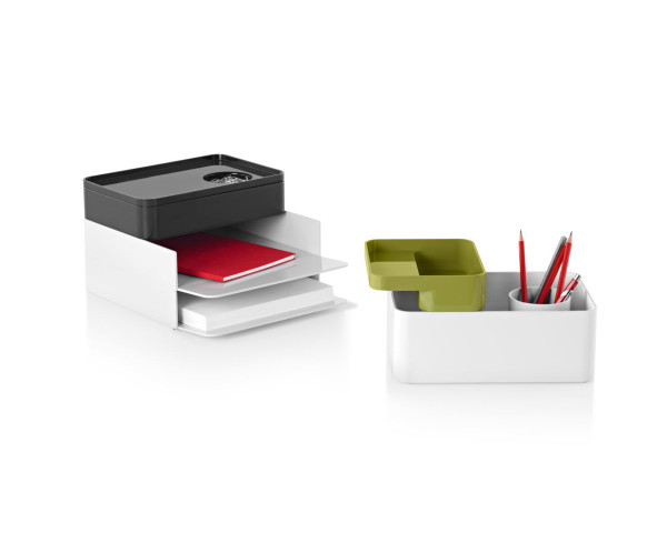 Modern modular desk accessories to organize with style - Designer desk accessories and organizers ...