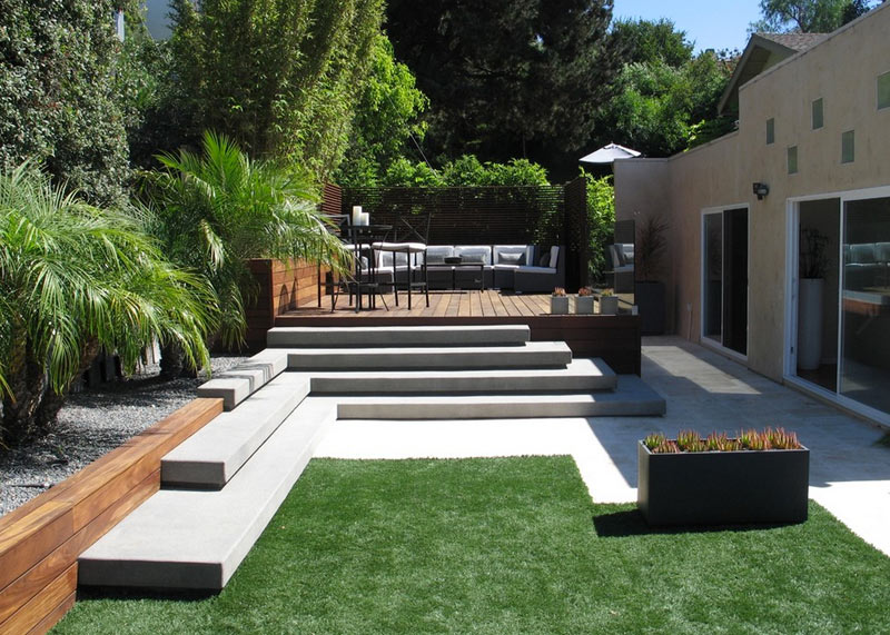 I 39 ve got the backyard blues and browns design milk for Modern landscape architecture