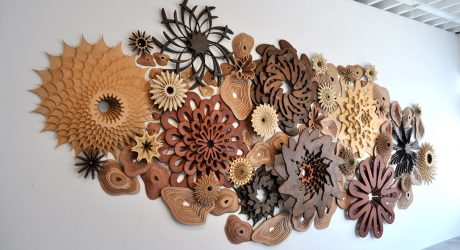 See Life: Layered Wooden Sculptures Inspired by Reefs