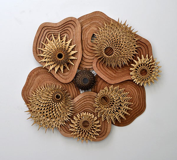 See Life: Layered Wooden Sculptures Inspired by Reefs in main art  Category