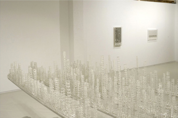 Architectural Sculptures Made From Paper by Katsumi Hayakawa in main art  Category