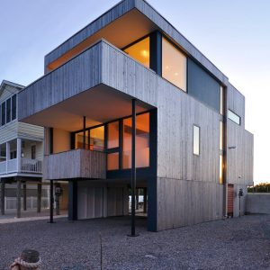 A Modern Beach House at the Jersey Shore
