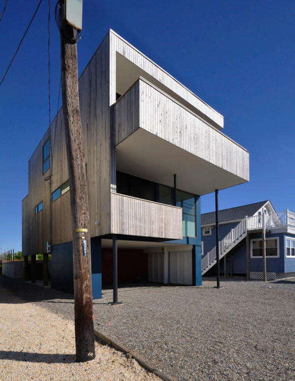 A Modern Beach House at the Jersey Shore in main architecture  Category