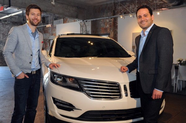 Youthfully Spirited: Dillon Blanski and Antonio Molinari of The Lincoln Motor Company in technology main  Category