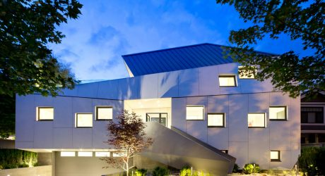 A Vancouver Home that Looks Like an Urban Sculpture