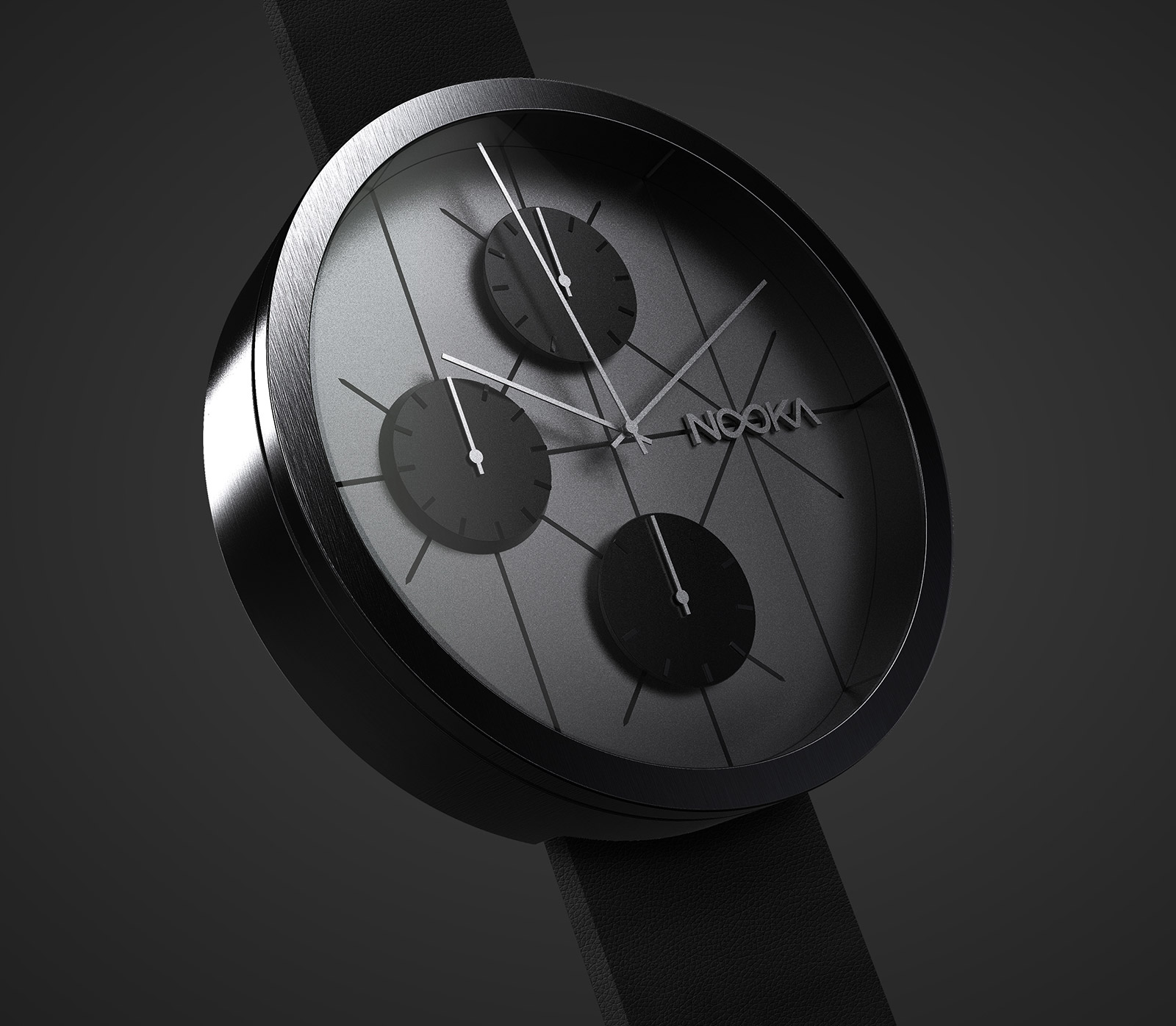 The NOOKRONO: A Watch Inspired by the 1960's Space Race