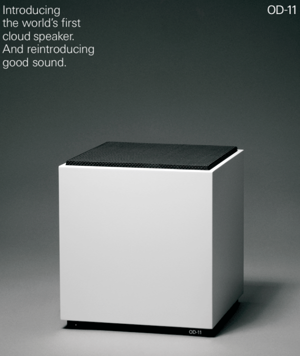 A 40 Year Old Minimalist Classic Reborn: The OD 11 Cloud Speaker in technology main  Category