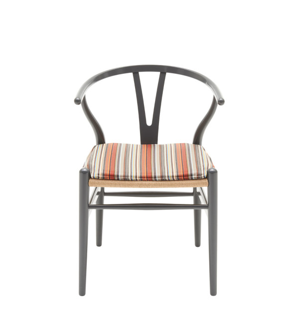 CH24 Wishbone Chair - Stripes