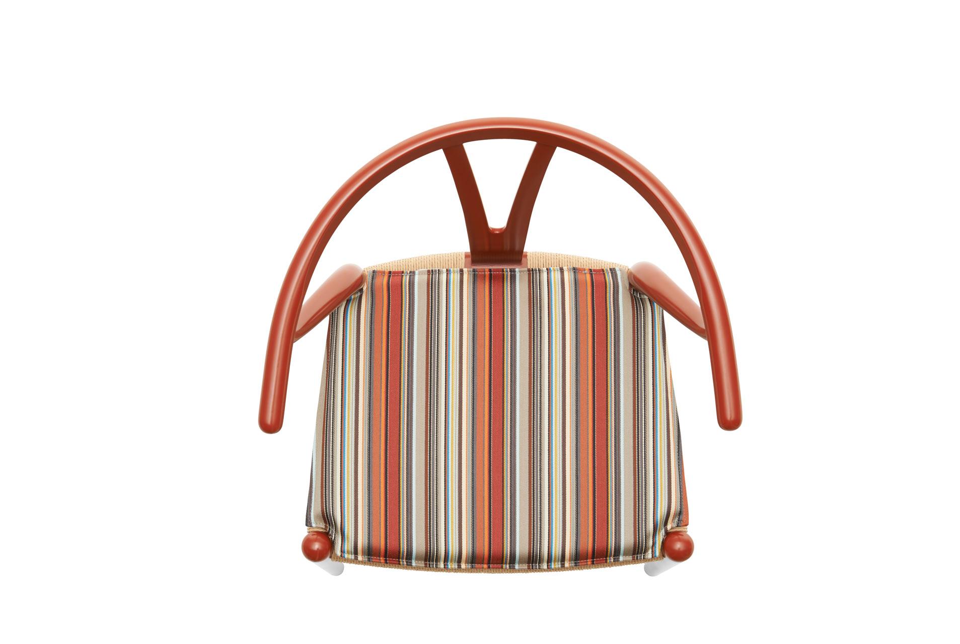 CH24 Wishbone Chair - Stripes