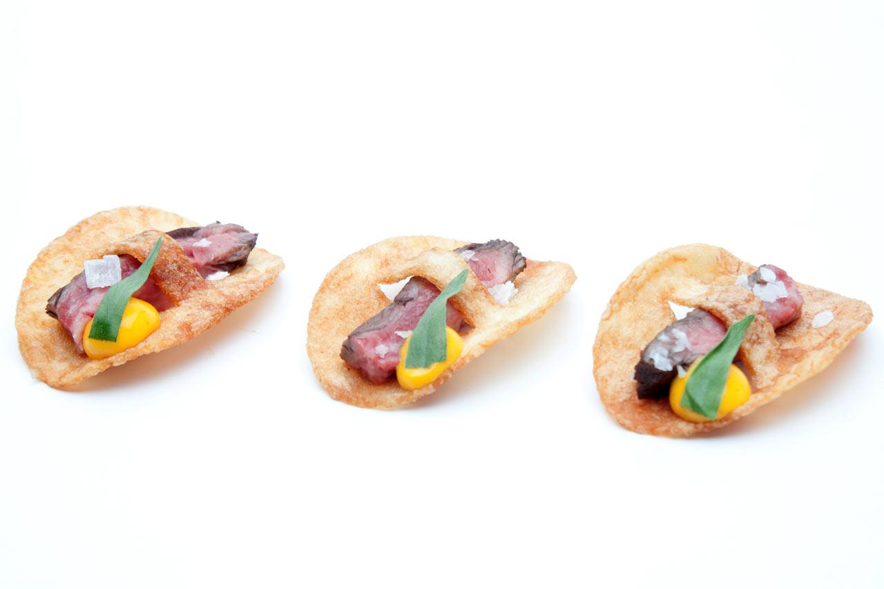 Eat It: Steak Frites   Béarnaise Flan