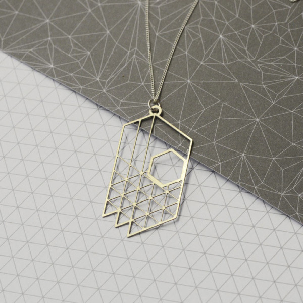 Plan-necklace
