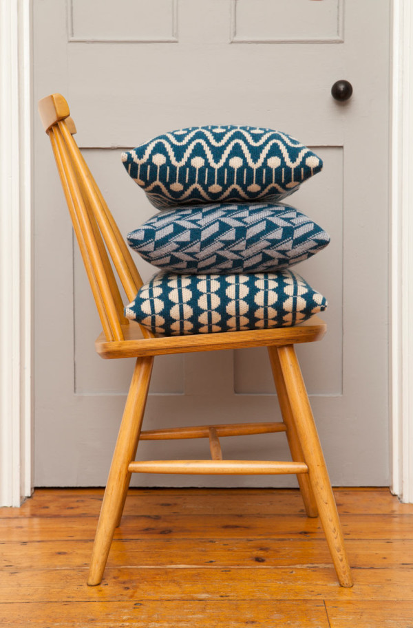 Bold Geometric Cushions & Blankets from Seven Gauge Studios in main home furnishings  Category